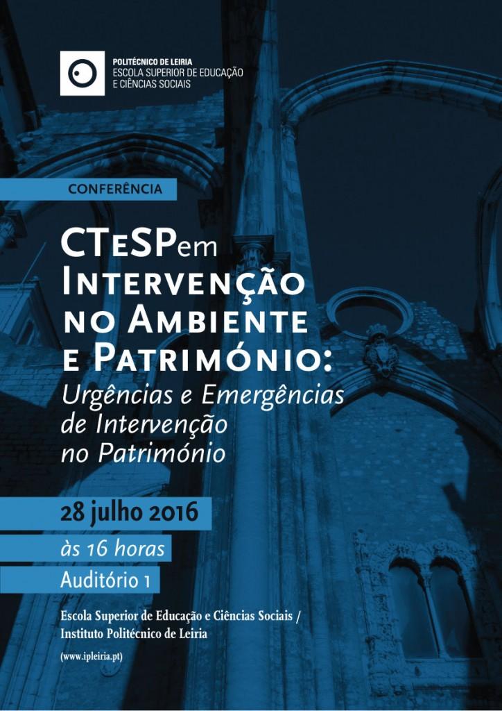 cartaz_Conferencia_Intervencao_Ambiente_Patrimonio