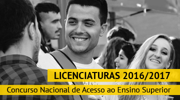 Licenciaturas 2016/2017: Concurso Nacional de Acesso ao Ensino Superior