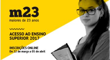 <strong>Provas M23: inscrições on-line — até 5 de abril</strong>