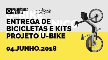 Politécnico de Leiria entrega as primeiras<br>bicicletas U-Bike