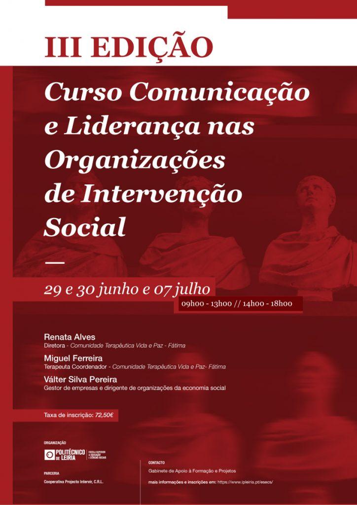 Cartaz_IIIEdicao_Curso_Com_Liderança_IIS