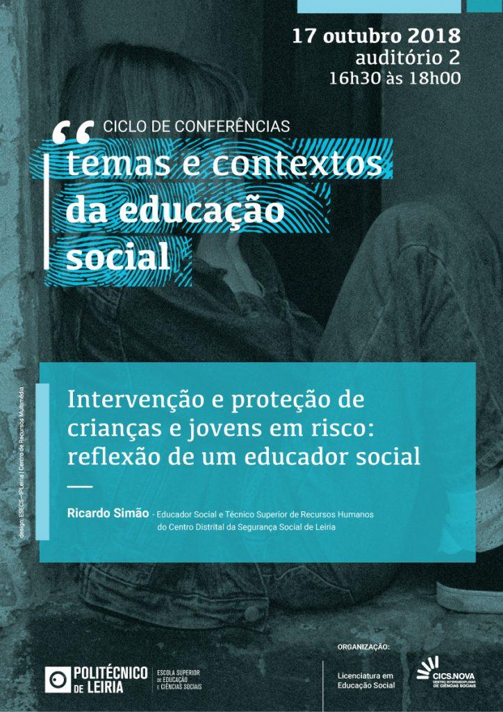 Cartaz_Conferencias_Temas_Contextos_Educacao_Social_01