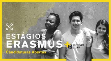 <strong>Estágios Erasmus +: Candidaturas Abertas</strong>