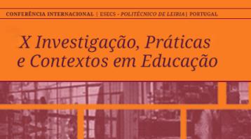 X Conferência Internacional IPCE I 28 e 29 maio