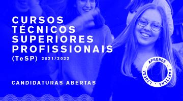 TESP 2021/2022 I Cursos Técnicos Superiores Profissionais
