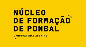 Núcleo de formação de Pombal I Candidaturas até 10 de setembro