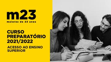 Curso Preparatório M23 (2.ª Fase) I Candidaturas de 16 a 22 de setembro