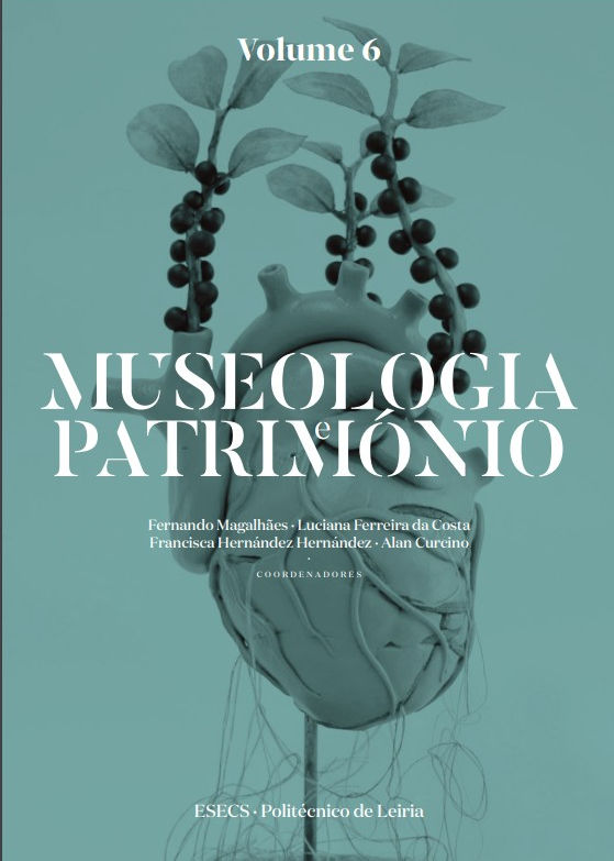 Capa do livro Museologia e Património - Volume 6