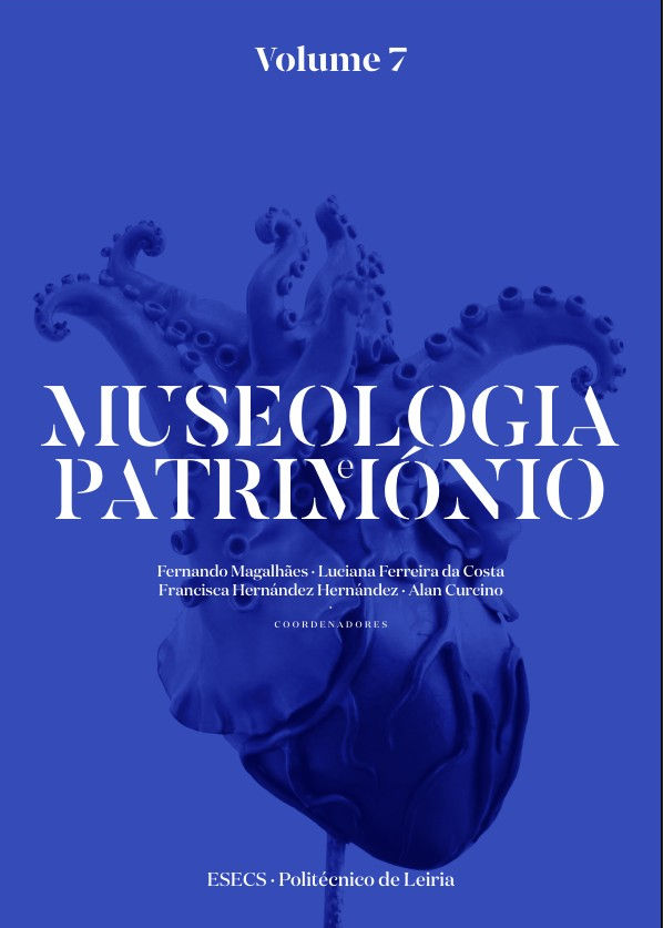 Capa do livro Museologia e Património - Volume 7