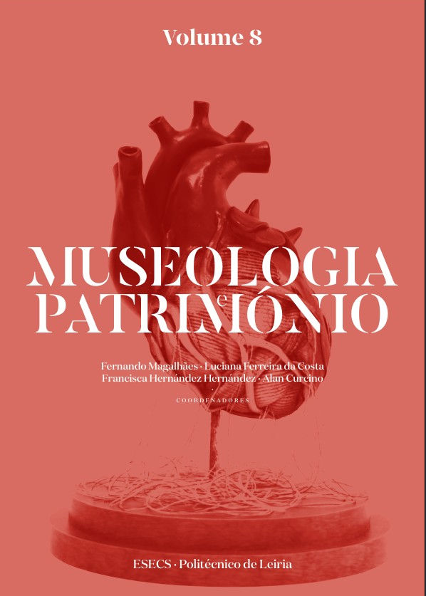 Capa do livro Museologia e Património - Volume 8
