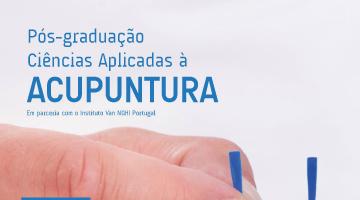 Pós-graduação em Ciências Aplicadas à Acupuntura – candidaturas abertas até 30 de setembro