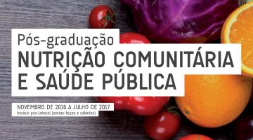 Pós-graduação em Nutrição Comunitária e Saúde Pública – candidaturas abertas até 30 de setembro