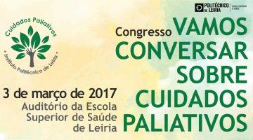 "Congresso ""Vamos Conversar sobre Cuidados Paliativos"" – 3 de março"