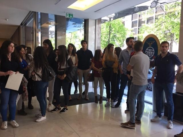 Visita dos Finalistas de CF 2017/18  à OCC