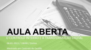 O controlo interno e a transformação digital