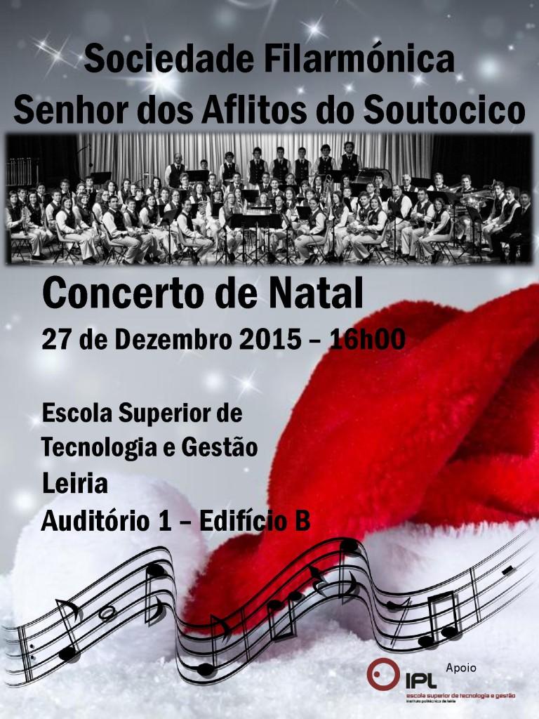 Concerto Natal Banda Filarmónica do Soutocico