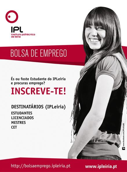 Divulgação Bolsa de Emprego IPLeiria