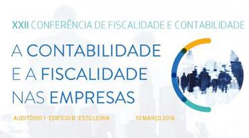 XXII Conferência de Fiscalidade e Contabilidade no dia 10 de março