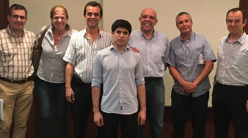 Ex-aluno de licenciatura e mestrado de Engenharia Eletrotécnica apresentou a tese de doutoramento na Universidade Federal do Rio de Janeiro