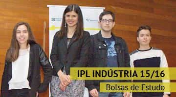 19 empresas atribuíram 24 bolsas de estudo IPL Indústria 2015/2016 aos melhores estudantes da ESTG