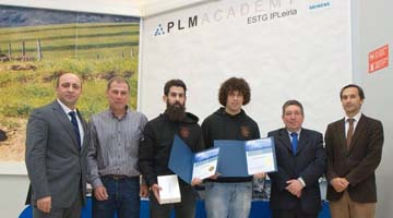 Estudantes da ESTG são os primeiros portugueses a vencer concurso internacional da Siemens