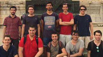 4 estudantes da ESTG na China