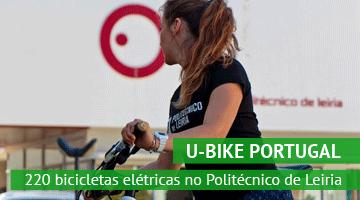 Estudantes e colaboradores do Politécnico de Leiria vão ter à sua disposição 220 bicicletas elétricas