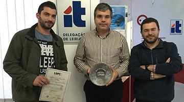 Investigadores do Instituto de Telecomunicações do IPLeiria recebem prémio para o melhor artigo científico em conferência internacional