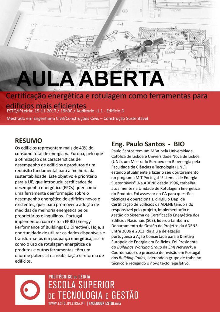 Aula Aberta_15 de Nov. _ 19h _ Certificação de energia e rotulagem de energia como ferramentas para edifícios mais eficientes-pag