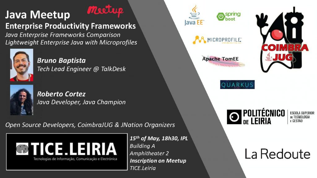 TICE-Leiria Meetup - Java