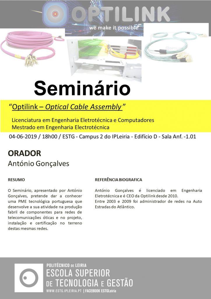 2019_06_04 Seminário_divulgação Optilink