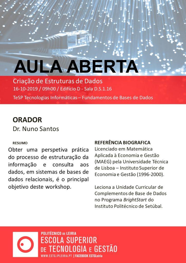 Aula Aberta Informatica_16_10_2019