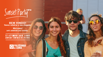 Sunset Party 2016 – 22 de setembro | Leiria