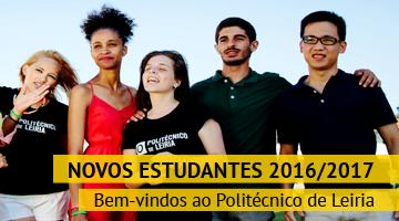 Novos estudantes 2016/2017