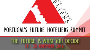 Equipa de Gestão Turística e Hoteleira no Portugal's Future Hoteliers Summit