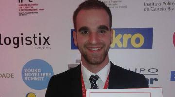 Estudante da ESTM-IPLeiria conquista o primeiro lugar na competição nacional de Hotelaria e Turismo