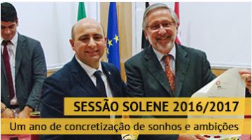 Sessão Solene de Abertura do Ano Letivo 2016/2017