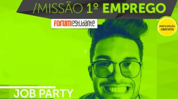 Job Party na ESTM      – 8 de março de 2017 | Auditório