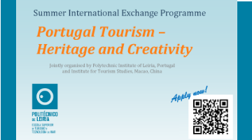 Summer International Exchange Programme:  PortugalTourism – Heritage and Creativity