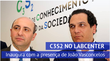 C3S2 no Torres Vedras LabCenter: inaugura com a presença do secretário de Estado da Indústria