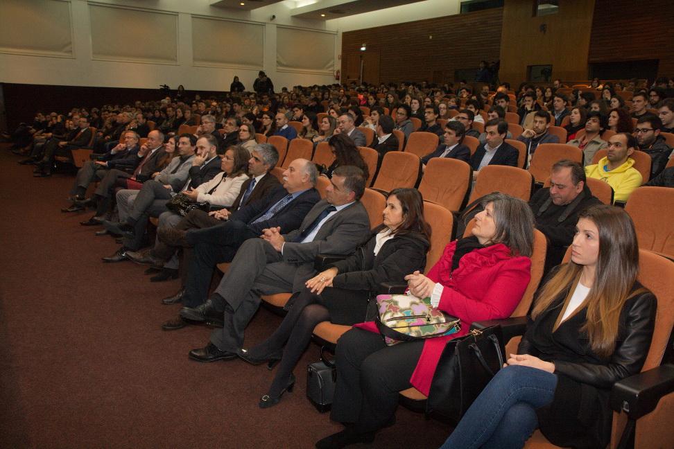 Foto da cerimónia de entrega das bolsas IPL+Indústria 2015/2016