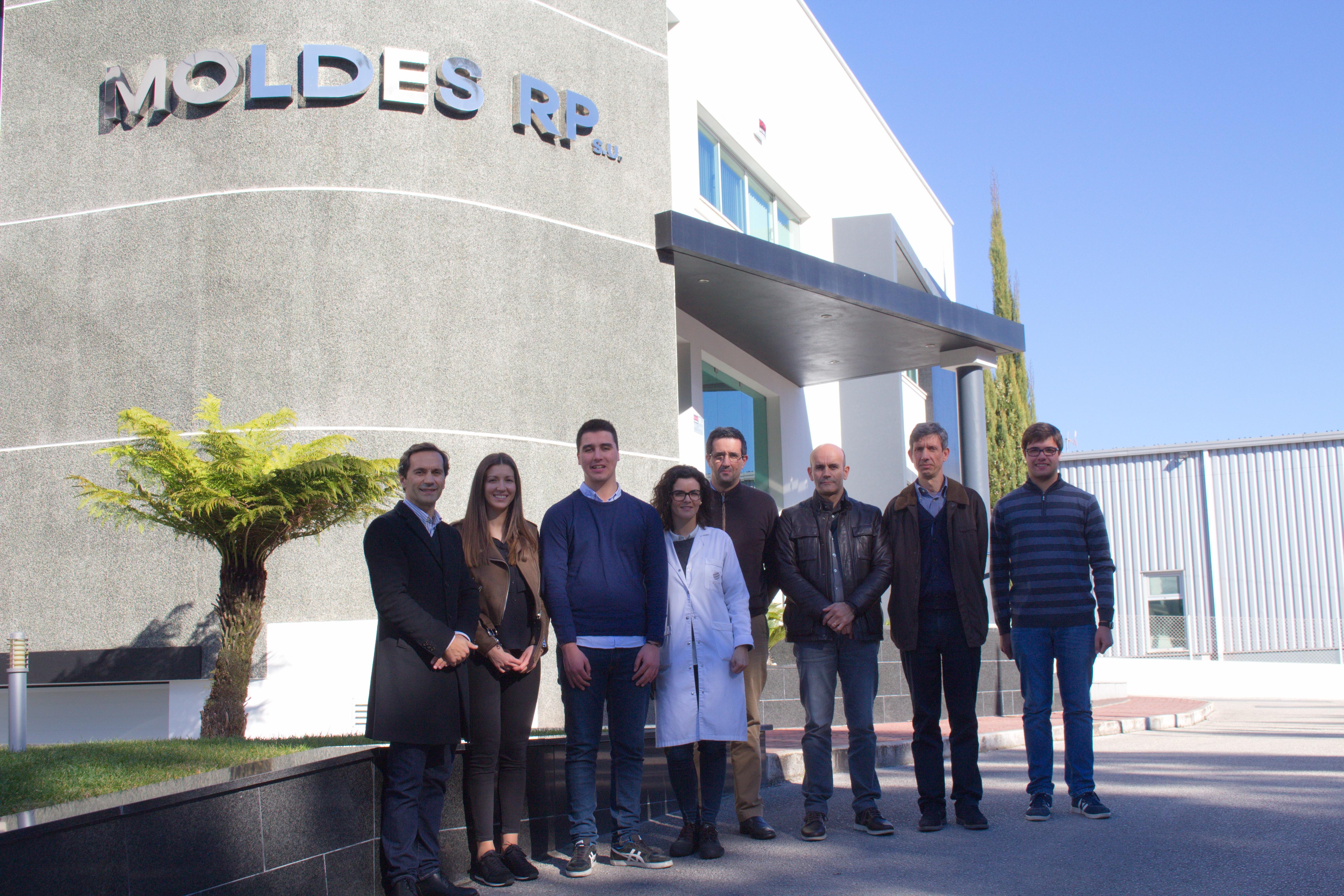Visita à empresa Moldes RP