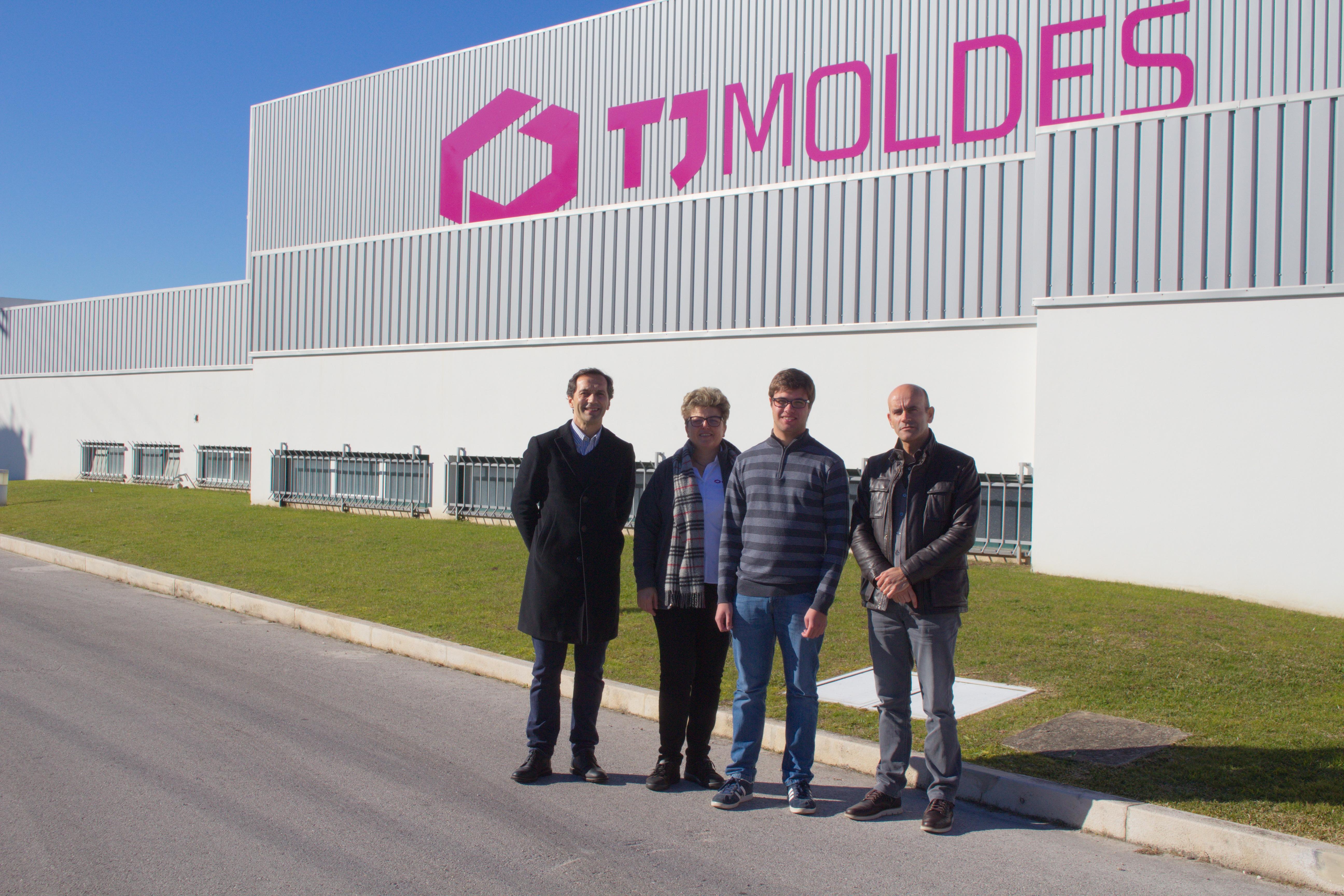 Visita à empresa TJ Moldes