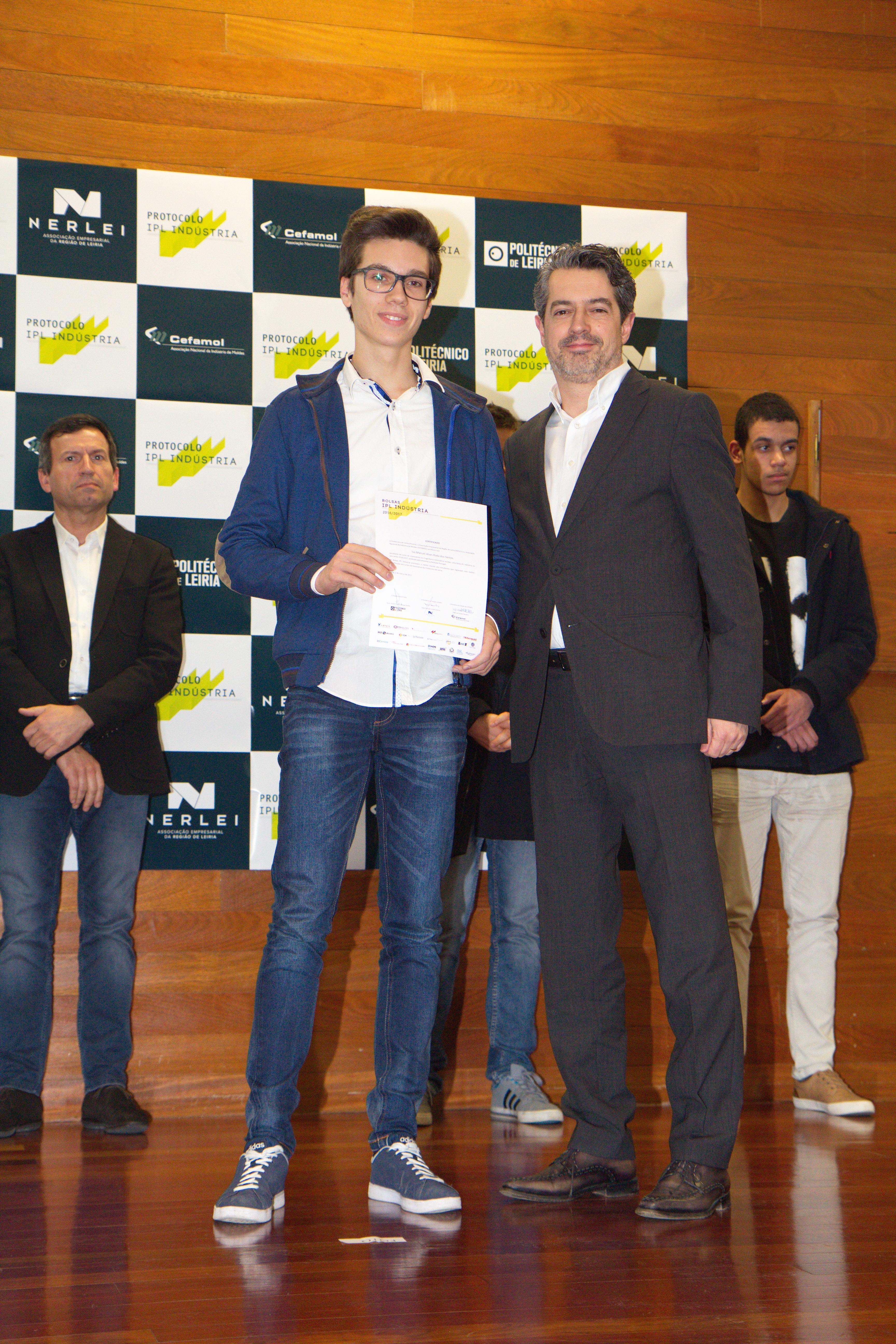 Cerimónia de entrega das Bolsas IPL Indústria 2016/2017