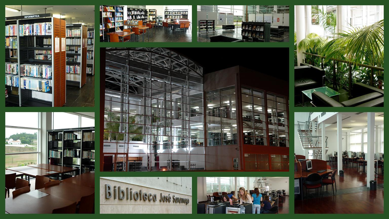 Biblioteca jos saramago do campus 2 estg esslei for Politecnico biblioteca